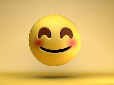 The face you make...^_^ smile happy art design emojis emoji 3d c4d