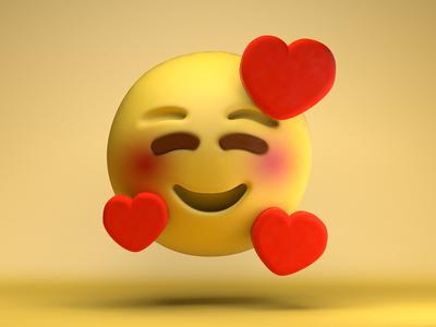 The face you make...<3 illustration c4dart emoji emojis art 3d design c4d