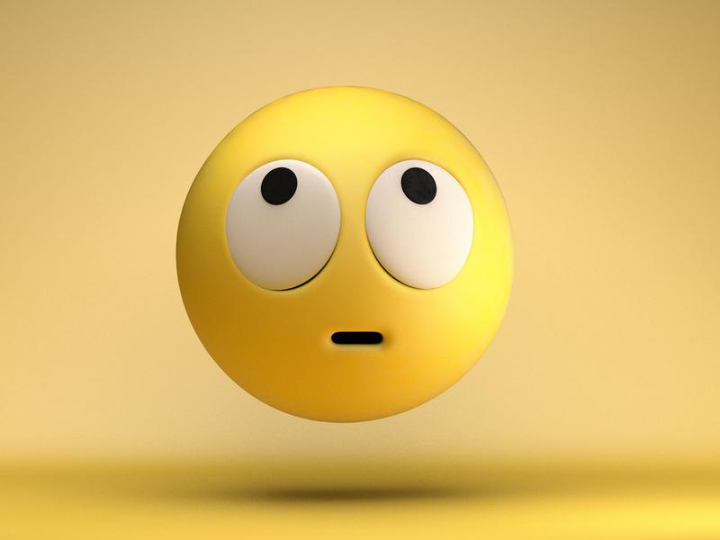 The face you make... rendering 3d art design emojis emoji c4dfordesigners c4dart c4d