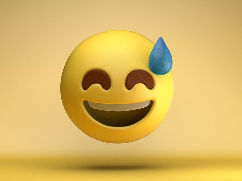 That face you make... c4dfordesigners illustration c4dart art 3d emojis emoji design c4d