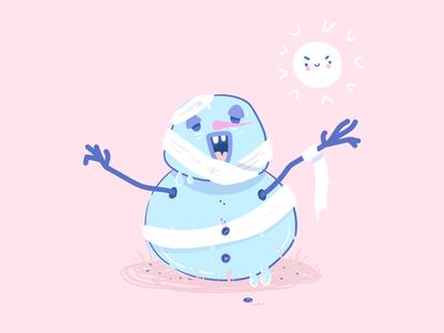 Zombie Snowman :)