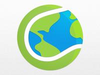 Tennis app icon