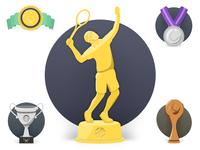 Tennis awards