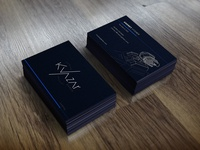 Game dev company business card