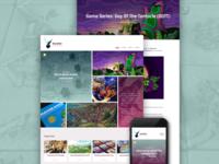 Reyndeer Games blog design
