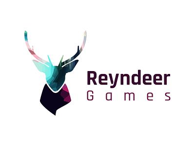 Reyndeer Games logo identity reindeer branding logo