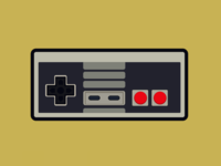 Nes Controller colored