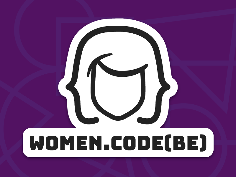 Womencodebe sticker v1 reversed