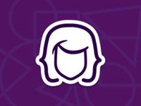 women.code(be) community stickers