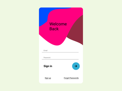 Sign In Page illustration sign in app ui ux design