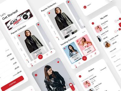 Flip Brand Store. ui8 fashion fashion app fashion brand ui kits ui  ux minimal branding clean ux ui design