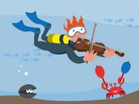 Diver Fiddle
