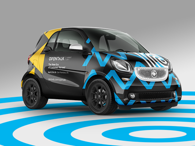 Opentalk Summit 2017 — Promotion promotion car talkdesk opentalk