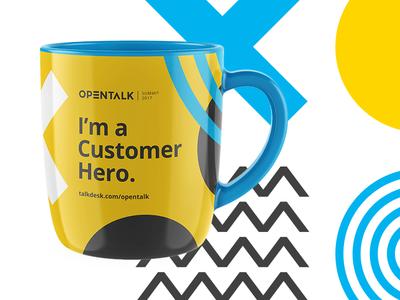 Opentalk Summit 2017 — Promotion promotion mug talkdesk opentalk