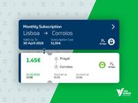Via Verde Transportes — Ticket Preview