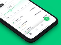 Fintech App — Main Account view
