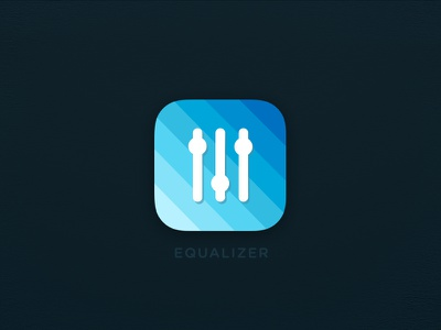 Equalizer app icon day5 dailyui eq song band app icon ios music equalizer