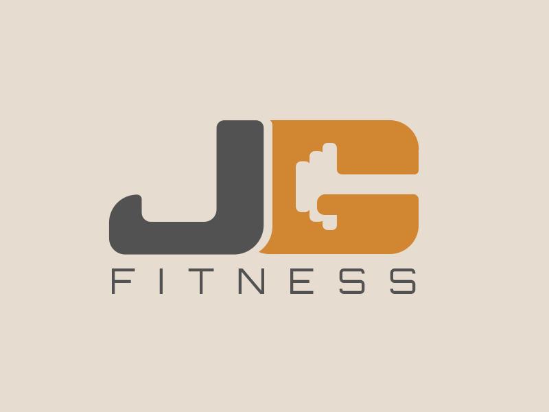 Jeff Gamet Fitness Logo marketing illustrator illustration health fitness logomark branding logo