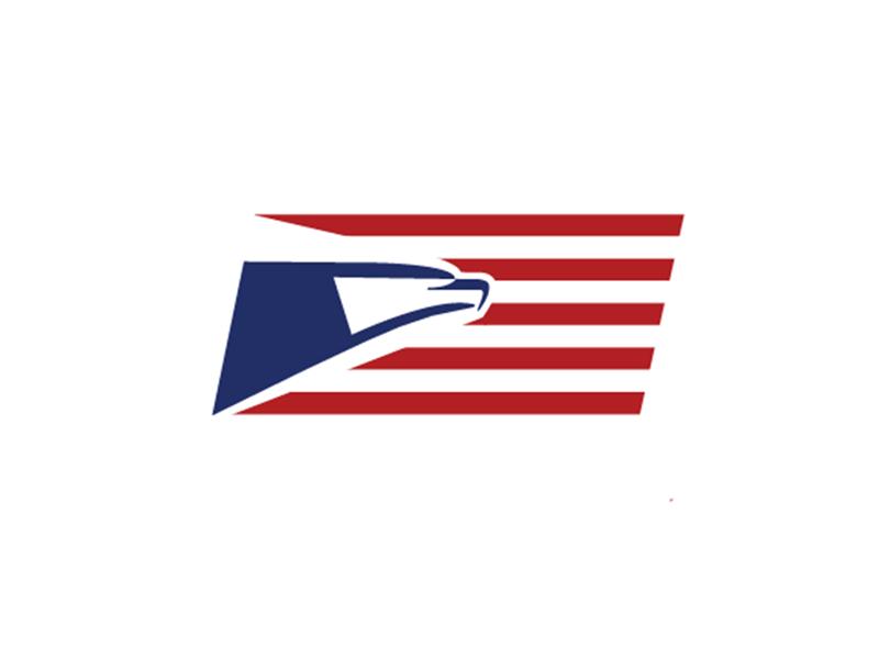 usps logo redesign by kat hopkins dribbble dribbble