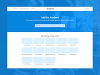 AddThis Academy Concept
