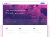Snag.work Landing Page