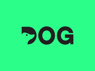 Dog Logo Design logotype logos flat logo vector illustrator branding graphic design design clean