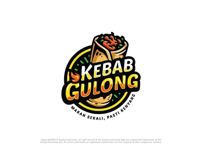 Kebab Gulong Logo