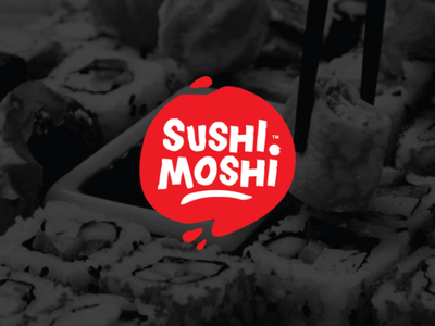 Sushi Moshi Logo By Emanbasty On Dribbble