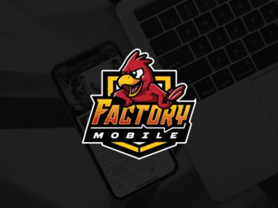 Factory Mobile Logo Design