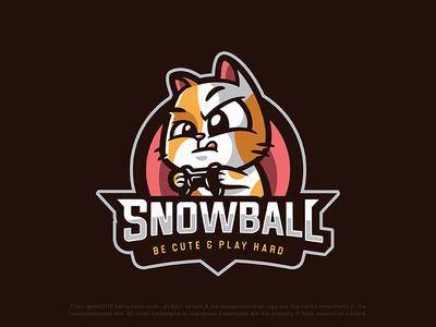 Snowball esport logo design
