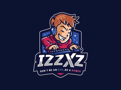 IZZXZ Esport Logo Design