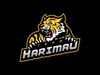 Team Harimau Logo Design
