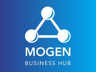Mogen Business Hub Logo illustration logo design logodesign