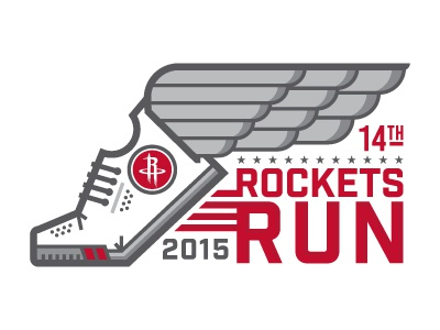 Rockets Run Logo / Brochure texas houston rockets brochure wings shoes basketball running