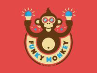 Funky Monkey Shaved Ice