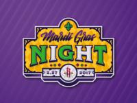 Mardi Gras Night Logo