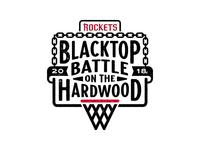 Blacktop Battle on the Hardwood Logo