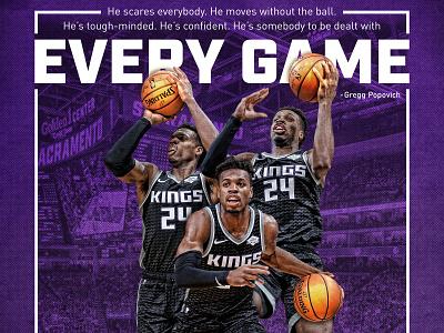 Pop & Buddy purple hield buddy basketball kings sacramento