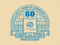 Lakewood 60th Logo Concept