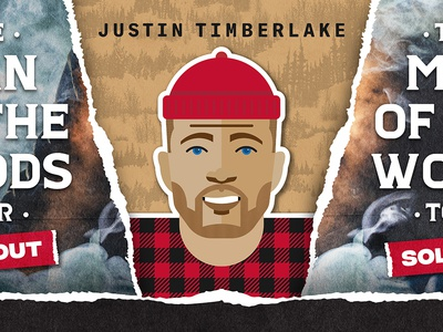 Justin Timberlake MOTW Graphic sold out sacramento illustration graphic tour timberlake justin