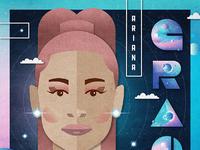 Ariana poster dribbble