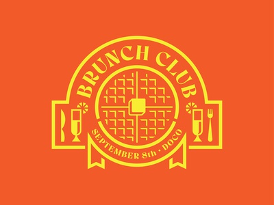 Brunch Club Logo (Killed Concept)