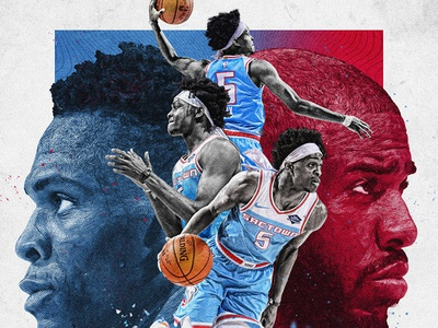 Fox Quote Graphic cp3 westbrook quote fox blue red basketball kings sacramento