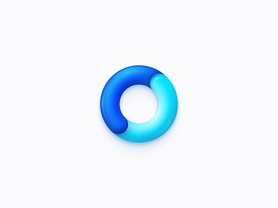 Going Crazy figma ui skeumorphism skeumorphic app icon app blue logo design logo icon design icon