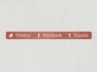 Share buttons share button red texture twitter facebook tumblr mask icon