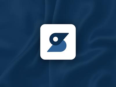 Duck Logo / Bird Logo / S Logo / Pin Logo vector flat design logo design branding s letter logo letter s logo location logo pin logo bird logo duck logo s logo logo
