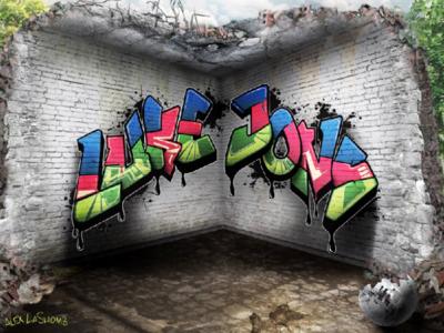 Graffiti Logo Design - Luke Jons