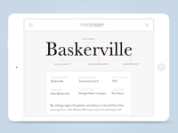 Type Story: App Concept