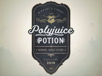 Custom Drink Label: Polyjuice Potion