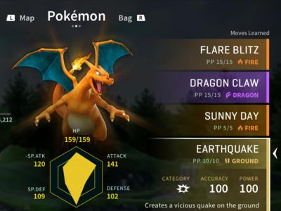 Pokémon Switch: Fantasy UI Concept